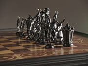 Pinocchio chess set 2013